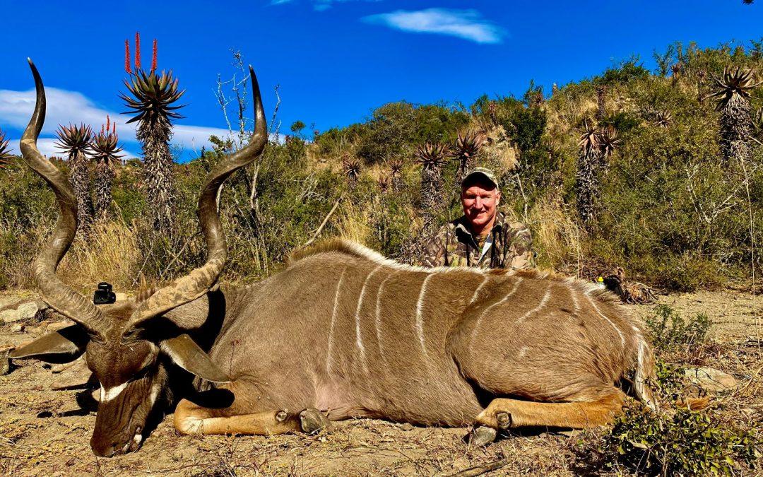 Nick's Kudu hunt 2020