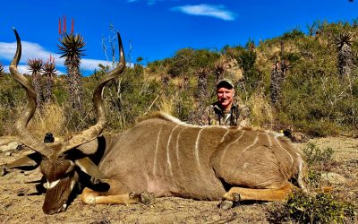Nick's Kudu hunt 2020